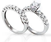 Rings with Matching Eternity Band
