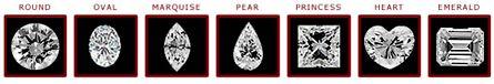 7 diamond shapes